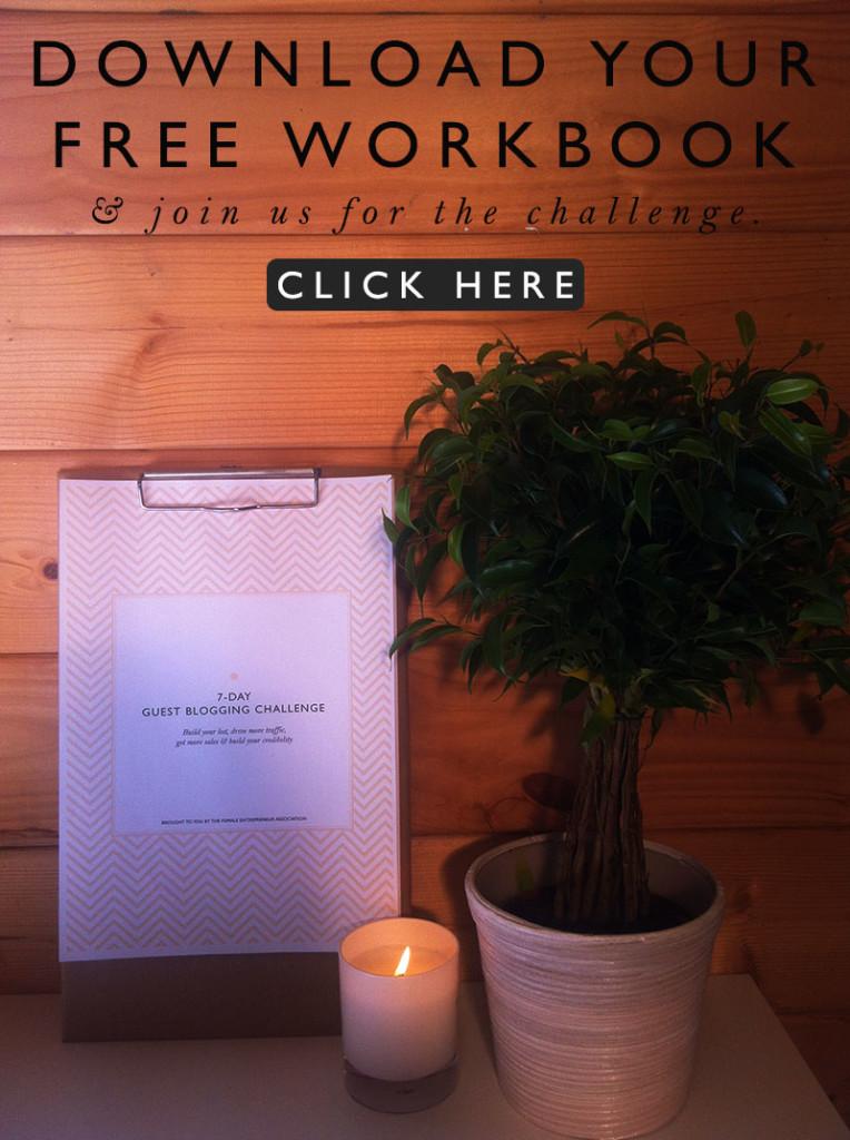 5 Steps to Guest Blogging + Free Workbook Printable