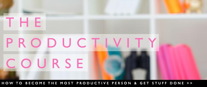 productivity course slide