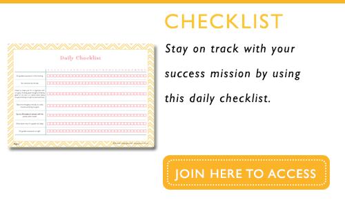 daily checklist1