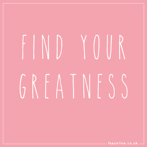 Find your greatness! #inspiration