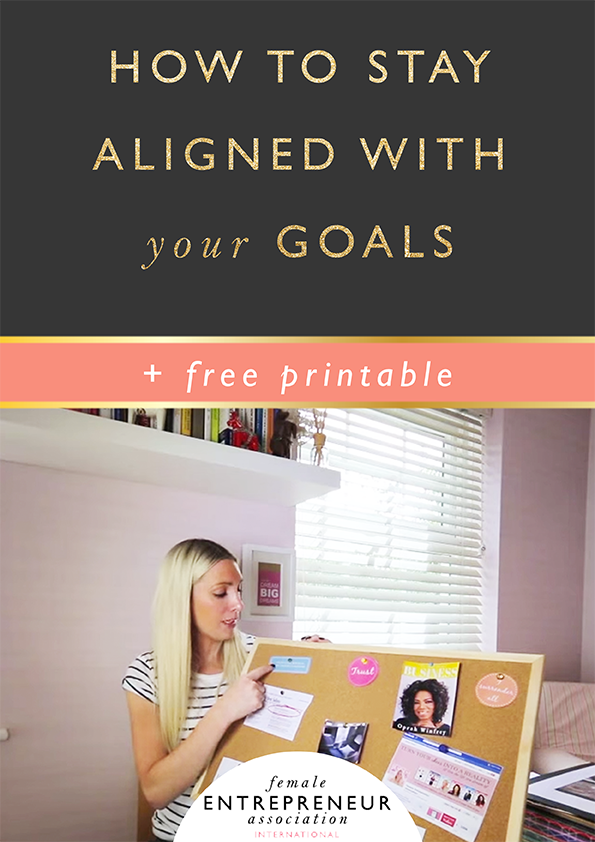 aligned with goals copy