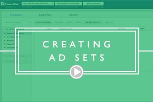 CREATING AD SETS