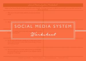 Social Media Worksheet