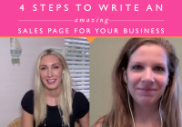 4 Steps To Writing An Amazing Sales Page That Converts