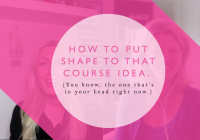 3 steps to turning your course idea into a truly memorable customer experience