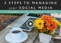 How to manage your social media in 3 simple steps