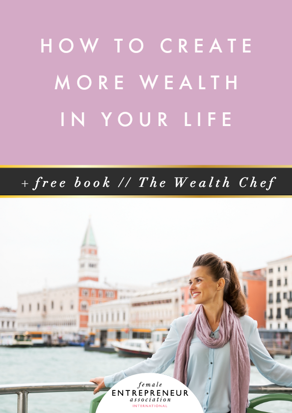 How To Make A Book About Your Life : How to create more wealth in your life free book