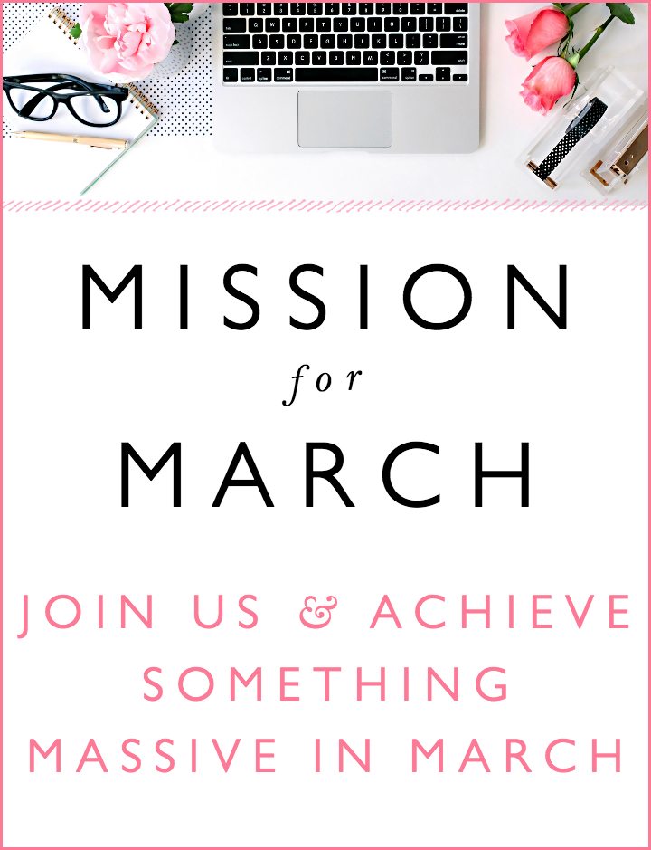 Mission For March 2015