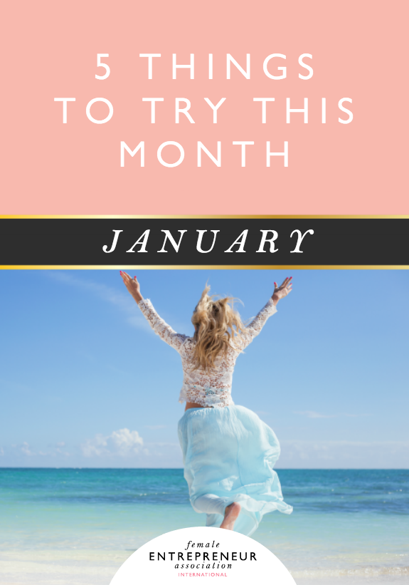 5 Things to Try this Month :: January