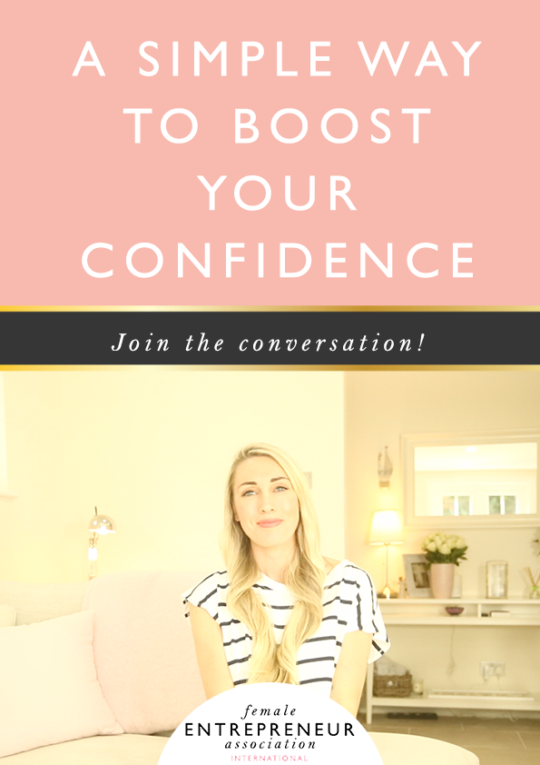 Over the years I've always been keen to figure out how to have more confidence and one of the things that's helped me a lot is a very simple question I discovered.