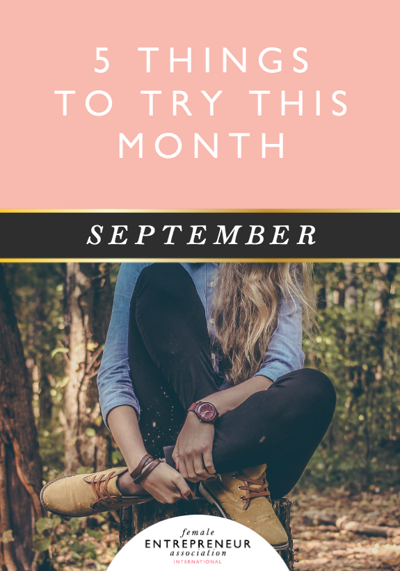 This month, the lovely ladies in the Members' Club are sharing their tips to help you take your life and business to the next level. We hope you have an amazing August and don't forget to leave a comment letting us know which tip you'd like to try!