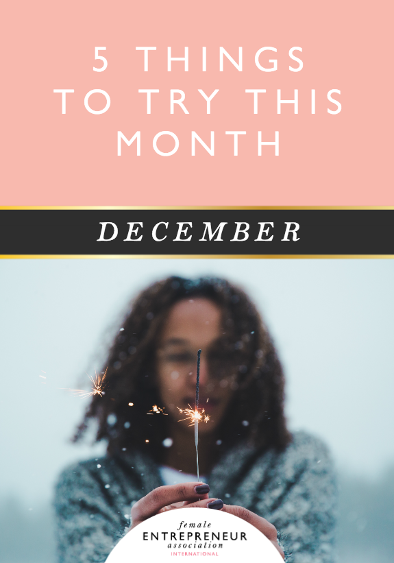 This month, the lovely ladies in the Members' Club are sharing their tips to help you take your life and business to the next level. We hope you have an amazing December and don't forget to leave a comment letting us know which tip you'd like to try!