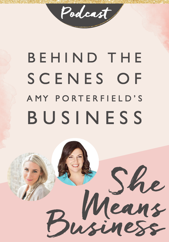 I'm so excited to share the She Means Business Podcast with you! This podcast is an extension of my book, it's a way for me to share more inspiring stories from incredible entrepreneurs around the world. Every Thursday I'm going to be bringing you a new episode, so be sure to subscriber on iTunes here, so you don't miss them.
