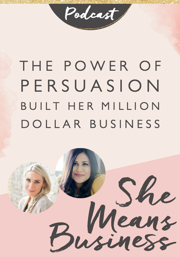 "On this episode, I am so excited to share Bushra Azhar with you. Her story is nothing short of amazing, but her sense of humor is what will keep you smiling as she inspires us all on taking action, continually raising the bar, and overcoming adversity. Bushra built a business called The Persuasion Revolution to teach people how to use persuasion in their entrepreneurial journey, taking her from ""a bloody nobody"" to making over 1.5 million in revenue."