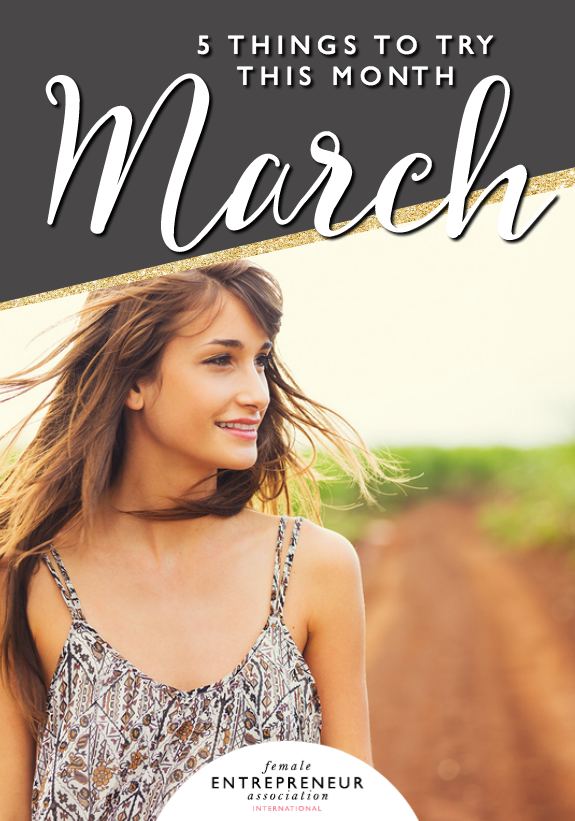 This month, the lovely ladies in the Members' Club are sharing their tips to help you take your life and business to the next level. We hope you have an amazing March and don't forget to leave a comment letting us know which tip you'd like to try!
