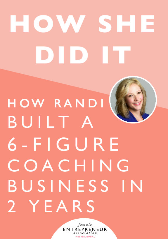 It took Randi quite a while to find her entrepreneurial groove, but once she did, things clicked really fast. From her first $5K client, she quickly went to $8K clients, then 6-figures within two years working only about 4 days per week. She learned a lot about herself (and what it means to build a business that was right for her) in those first few ye