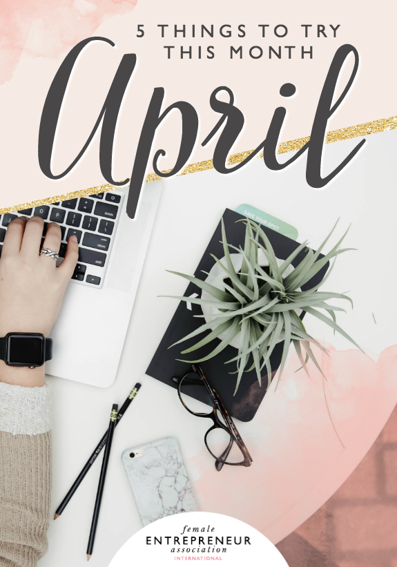 This month, the lovely ladies in the Members' Club are sharing their tips to help you take your life and business to the next level. We hope you have an amazing April and don't forget to leave a comment letting us know which tip you'd like to try!