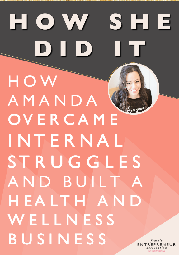 After healing herself from multiple illnesses and losing weight through changing her diet and thought patterns, Amanda has made it her life's mission to help others do the same thing. She loves helping women discover what is blocking them from living the life of their dreams and helping them work through this so they can live life on a whole new level.