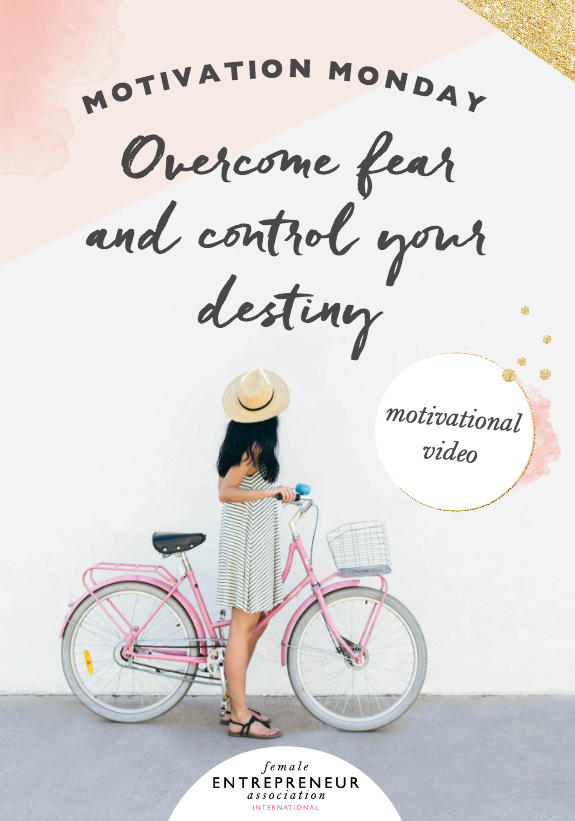 Let this video inspire you to take your power back and USE your fear instead of giving fear the permission to use you.