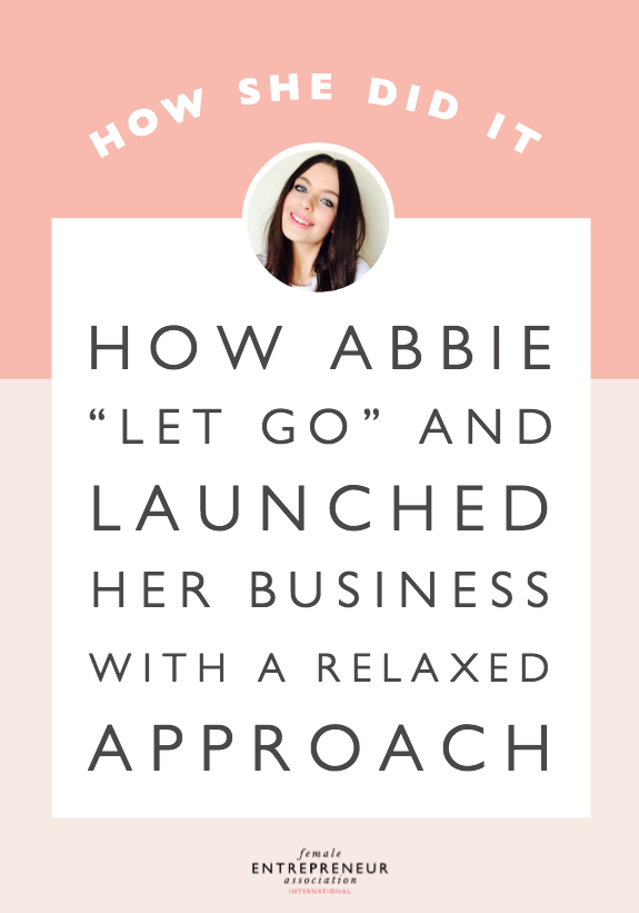 "Read about how Abbie went from over-researching for ""the right thing to do"" to letting go and launching her business with a more relaxed approach. There are two elements to her business - an online store and design services. Abbie is just at the beginning of her entrepreneurial journey and she shares what she's learned so far..."