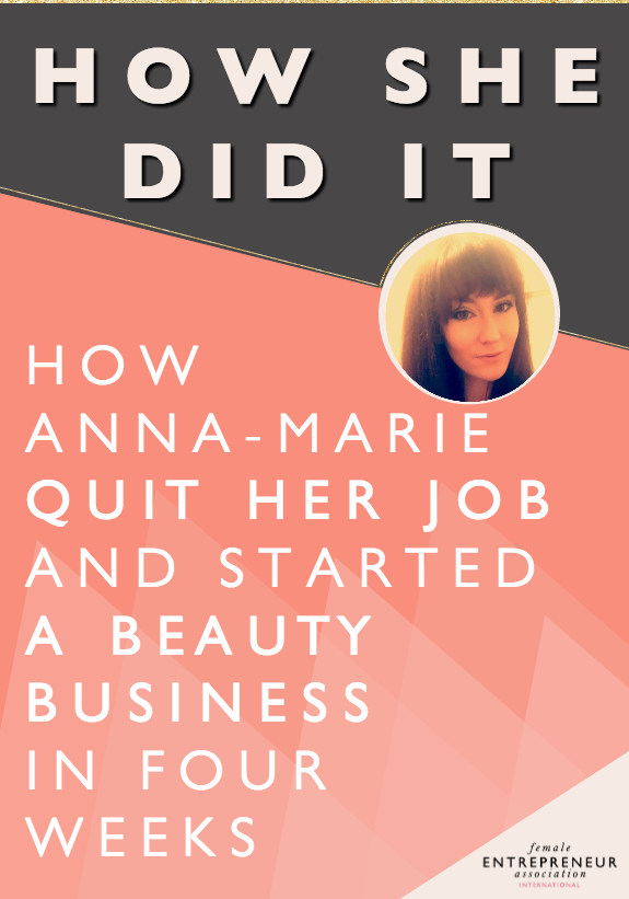 When an opportunity arose for Anna-Marie to rent a room in a hairdressing salon in her local town, she took it. Within 4 weeks she had quite her job, kitted out her new beauty room with all the products and equipment she needed and started her business. She had no savings to use but the support of friends and family gave her the courage to see where this adventure would take her. A year and a half later she's in love with her businessand ready to see how she can improve and grow.