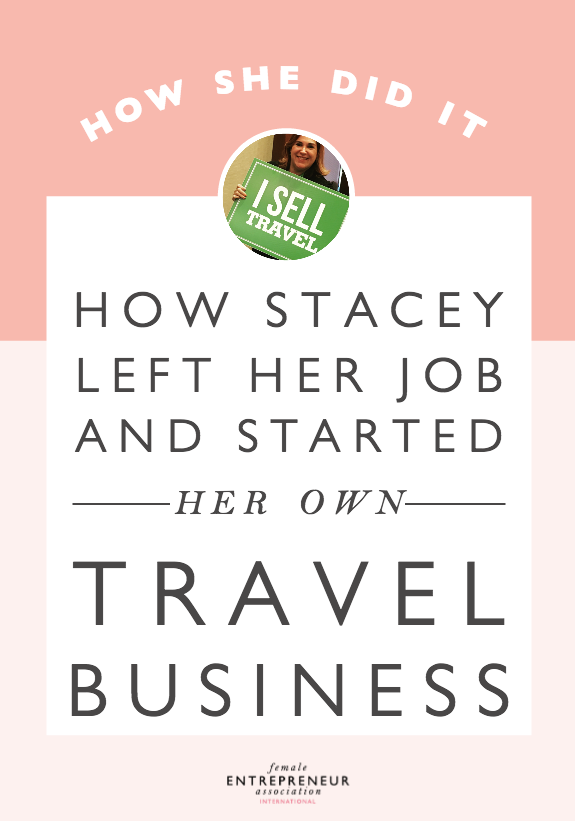 Stacy started her travel business after realizing that the company she had been working at was never going to allow her to reach her potential. Her cousin joined her as a business partner and after just 5 years, they are having their best year yet selling more in this first quarter than they did all of last year combined!