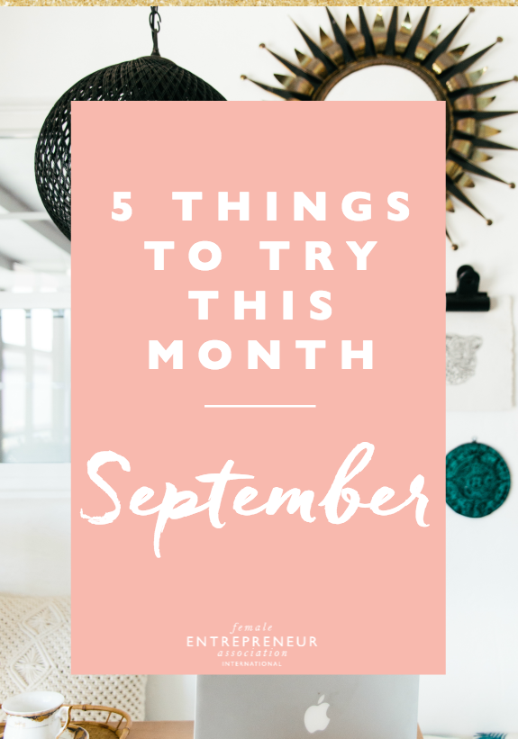 This month, the lovely ladies in the Members' Club are sharing their tips to help you take your life and business to the next level. We hope you have an amazing September and don't forget to leave a comment letting us know which tip you'd like to try!