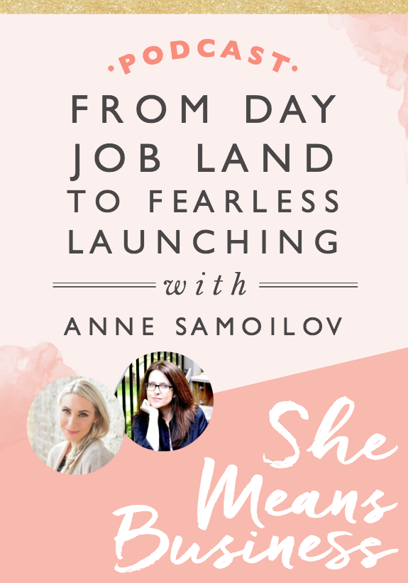 Today on the show we are going behind the scenes with Anne Samoilov! Anne is the creator of Fearless Launching and has worked with people like Marie Forleo of B School and Laura Roeder of Meet Edgar and it's so interesting to hear that all came about. In fact, the very first launch Anne managed was Marie's B School!