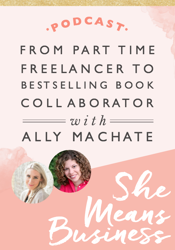 "One of the most thrilling things about being an entrepreneur is realizing how possible it is to create something amazing out of thin air. That's what Ally Machate did. When her job at Simon Schuster took a hit from the dot-com bust, she decided to ""take a chance"" and experience a year off to finish her degree while doing some freelancing on the side."