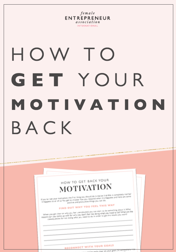 If you've lost your motivation, the first thing you should do is realize that this is completely normal! This is certainly something I've struggled with myself. It happens to all of us. Here are some positive and productive things you can do to get back to being fired up again.