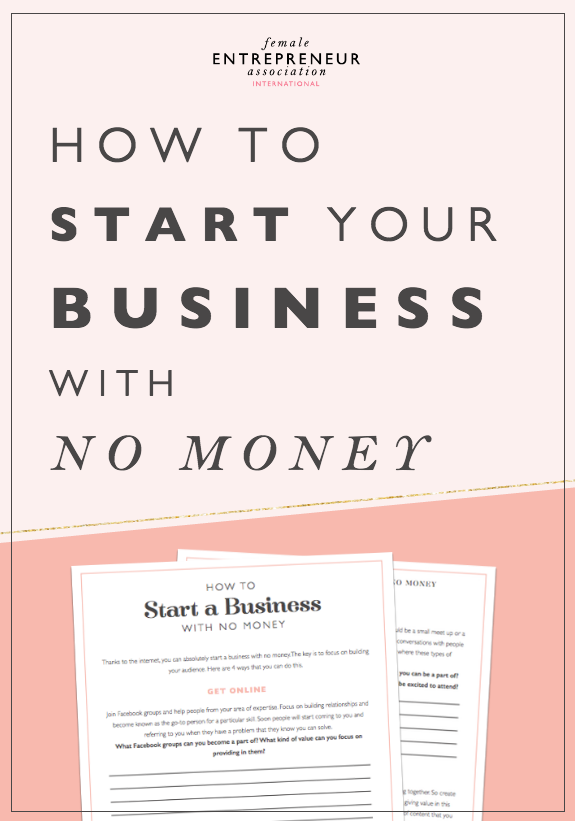 Thanks to the internet, you can absolutely start a business with no money. The key is to focus on building your audience. Here are 4 ways that you can do this.