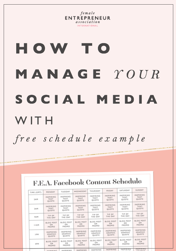 How to manage your social media with free fea facebook content posting out on social media can be really overwhelming and it so easy to fall of pronofoot35fo Image collections