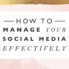How to Manage Your Social Media with Free FEA Facebook Content Schedule