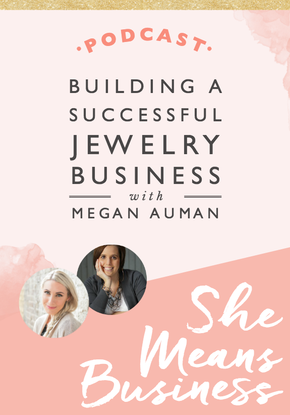 In this episode, I was joined by the lovely Megan Auman. She creates absolutely beautiful jewellery. I love hearing behind the scenes of how she's turned it into a big success. One of the biggest takeaways is the fact that as entrepreneurs, all we have to do is show up and take action. We don't have to have it all figured out. We don't need to be able to see the whole path. We just need to get going and test it all out. That's how we can create lots and lots of success. Anyway, I hope you enjoy this episode and love it as much as I did. It is honestly so inspiring.