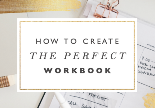 How to Make the Perfect Workbook to Grow Your Email List