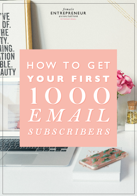 In this video, I break down my top four ways to build your email list to 1000 people. And although 1000 people may sound like a lot when you're starting out, it isn't that much in the grand scheme of things. With the four steps in this video, you'll be surprised at how quickly you can build your email list.