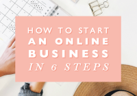 How to Start an Online Business in 6 Steps