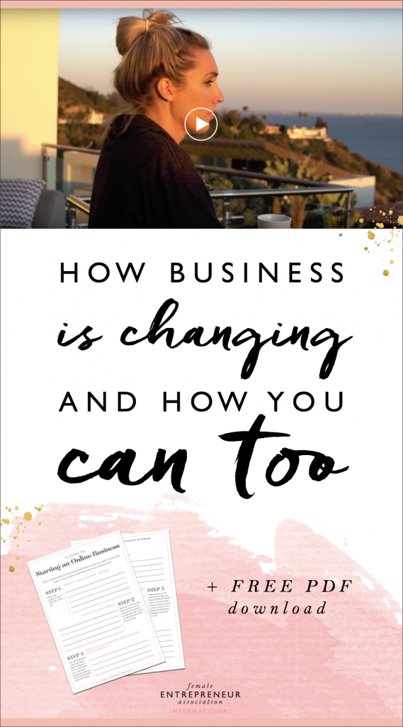Business is changing and it's about time you adapt or you'll be left behind.