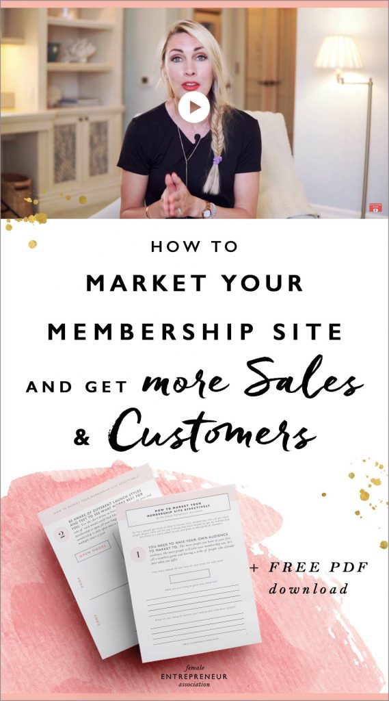 So many people get stuck on how to market their membership site and get more people to join. Here are the top 3 things that have helped me get my membership out there in a really effective way and grow to thousands of members.