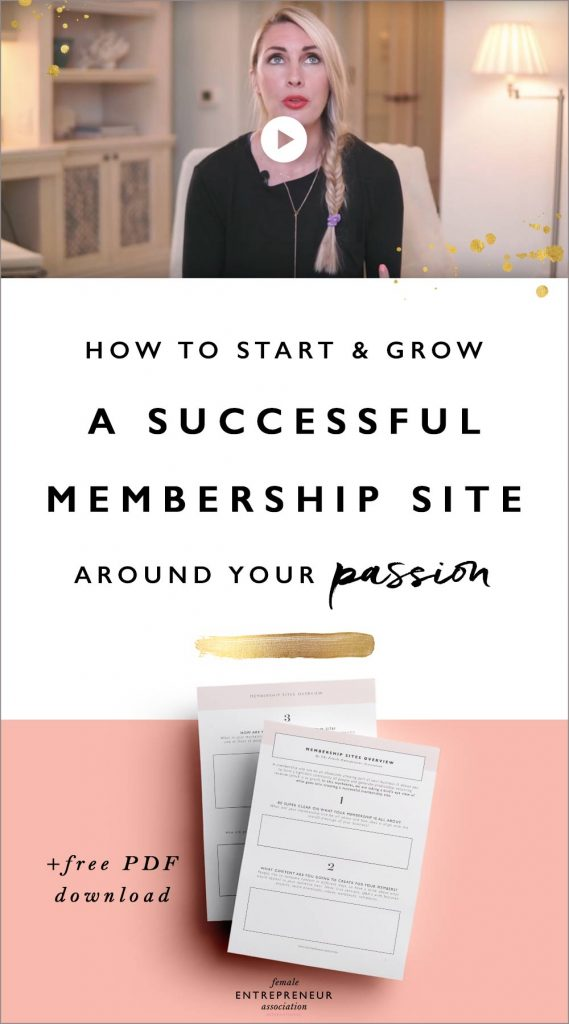 When building a membership site there are three major things you need to consider, without them you'll likely struggle and feel overwhelmed and overworked. Learn all about them in this video and get your free printable to help you take action!