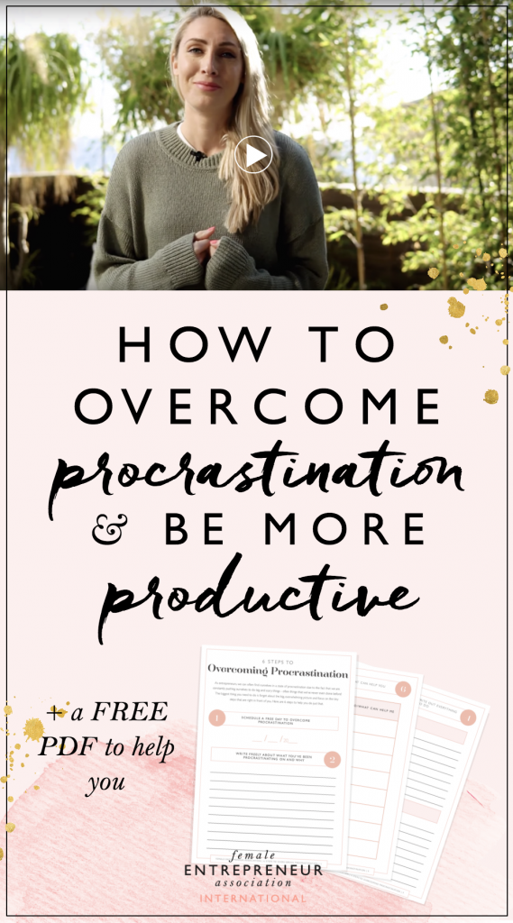 Procrastination is something we all deal with as entrepreneurs, even when we know it's going on! Sometimes it's hard to get stuff done when it's something we don't enjoy. So how do you get over procrastination as a business owner and ensure your business keeps moving forward? That's exactly what we cover in this weeks video.