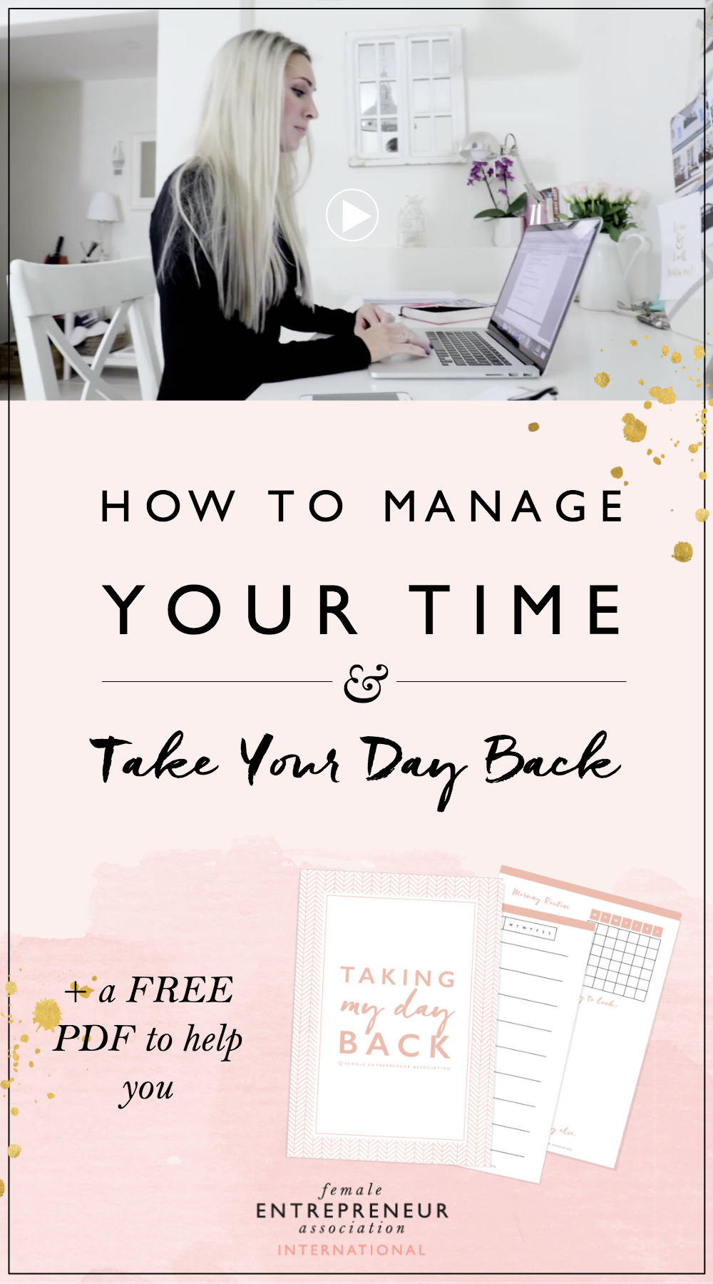 As entrepreneurs, we have so much going on. We can be spinning so many plates and it can often leave us feeling like overwhelmed, crazy, headless chickens! At least that's how I often feel. :) Here's what I do to get back to being organized and in control of my time.