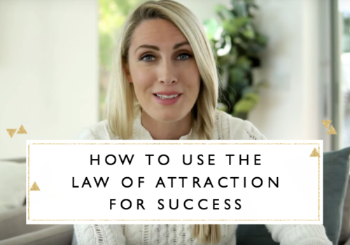 How to Use the Law of Attraction for Success + Free Printable