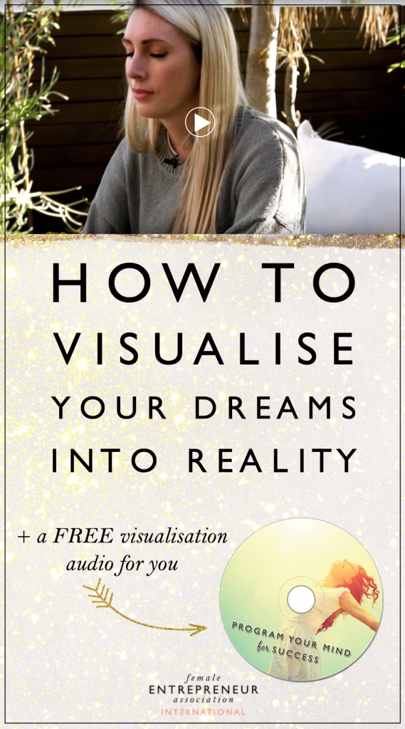 I made this video for you so you can practice visualization on a regular basis. This is not only a very fun activity but an extremely effective one that will help you get to where you want to be.