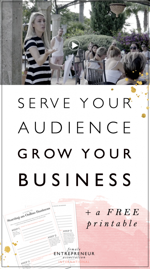 Being an entrepreneur is not about just making money and buying the home or car you've always wanted. Being an entrepreneur is about making an impact with your audience, it's about serving them in a way no one else can. On days when you lose sight of where you are headed, keep yourself motivated with your wonderful, amazing audience who believes in you!