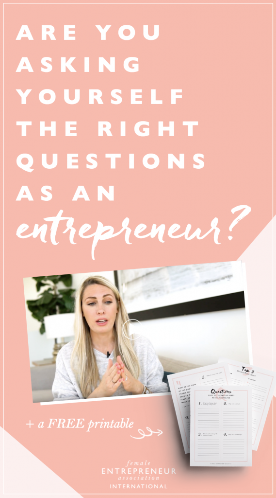 Entrepreneur | Free Printable | Work from Home