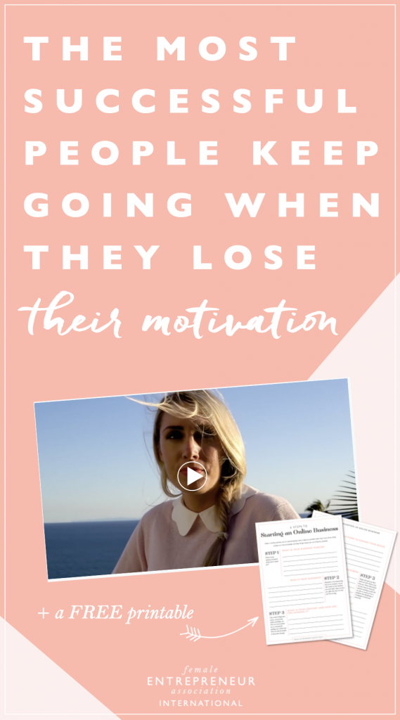 I made this video to tell you that the only difference between them and those who don't find success is knowing that motivation is a discipline, not a feeling that will magically appear inside of you.