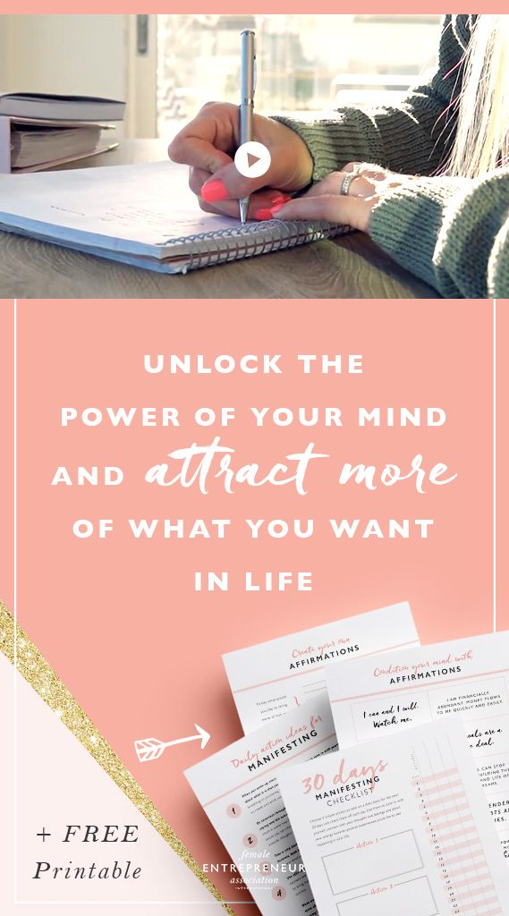 Making manifestation work for you. Here's a simple rinse and repeat system that takes almost no time at all and can fit into your daily routine. In this video I share 6 simple but extremely powerful strategies to help you attract more of what you want into your life + a there's a free 30 day challenge printable to get you started!