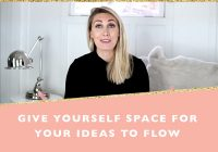 Give yourself the space you need to thrive and succeed + free printable