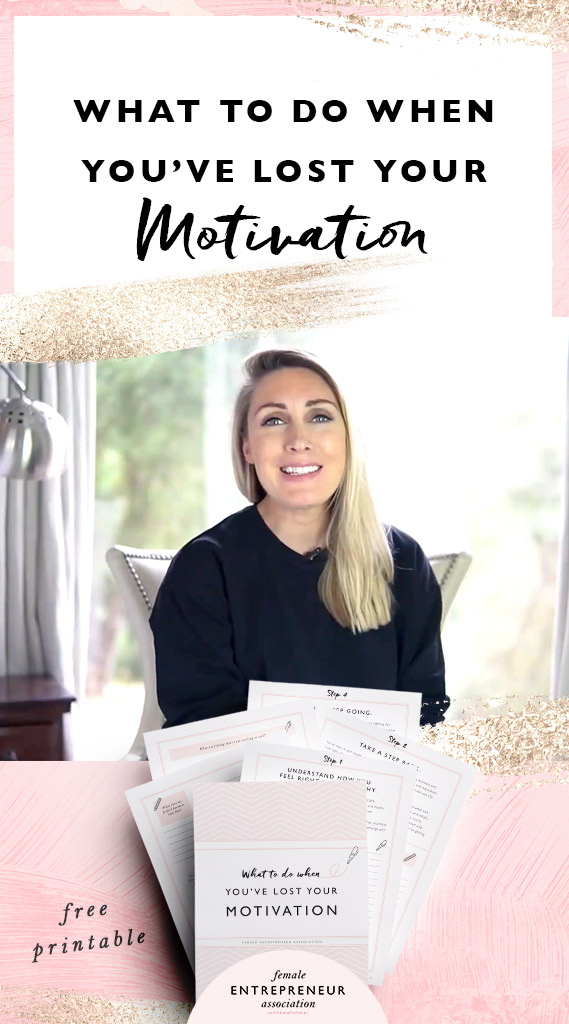 Entrepreneurship is a rollercoaster ride with its fair share of ups and downs. Sometimes you're full of motivation and raring to go, other times it seems like that fire you had inside you has completely died out. In this video I share 4 tips to get your motivation back plus a free workbook to help you get re-inspired :)